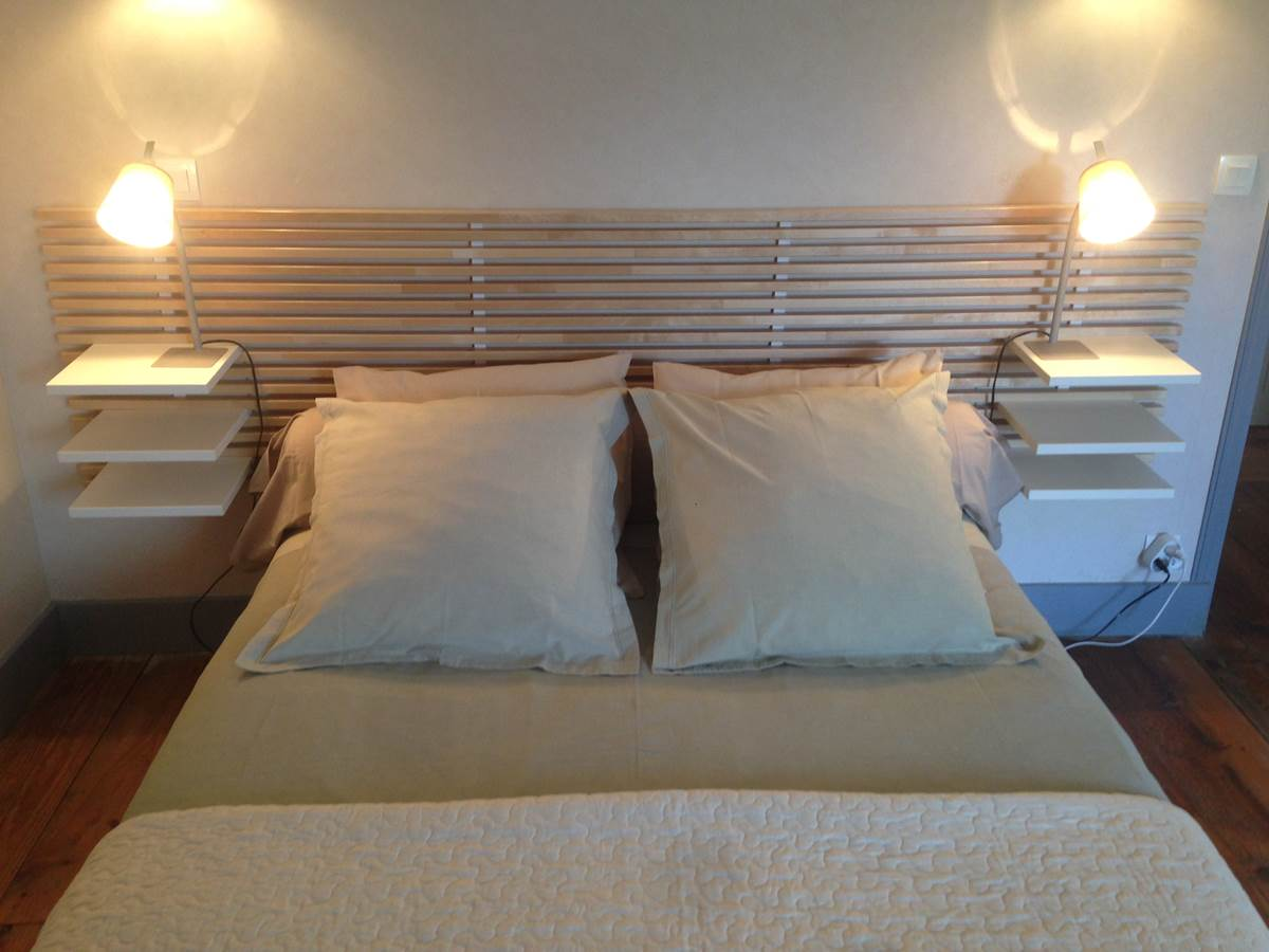Chambre Le Potager, lit double