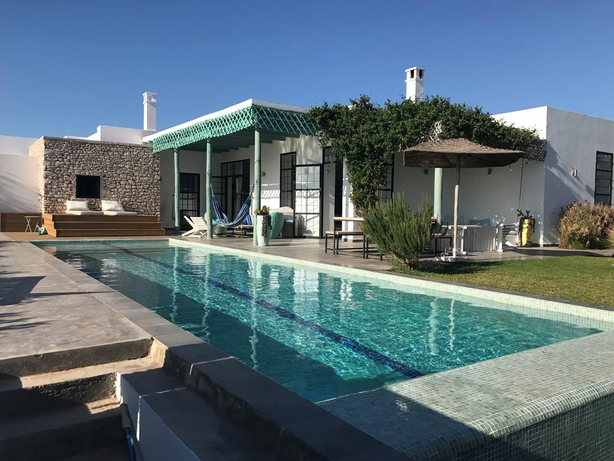 Dar Céleste -Essaouira - maison et piscine