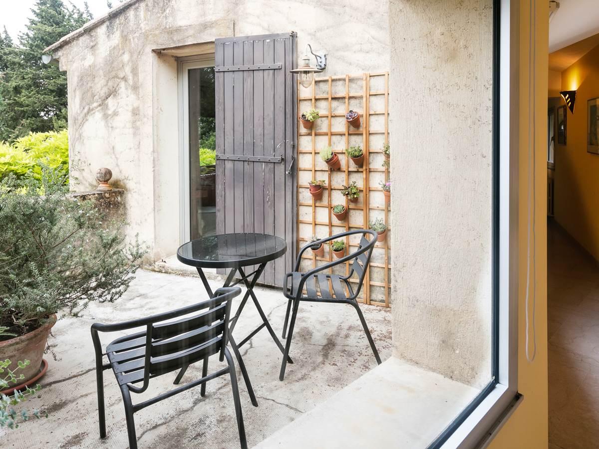 Terrasse privée. Un vrai solarium