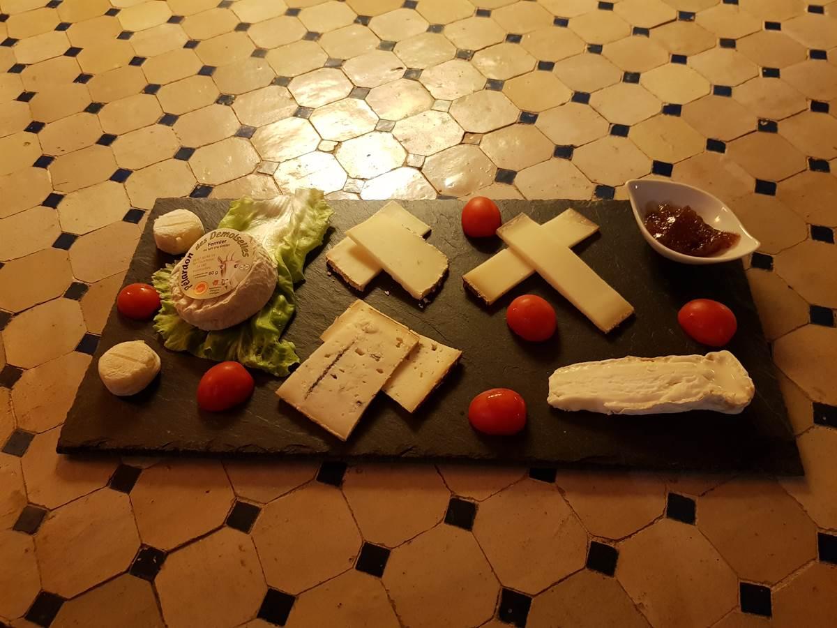 Planche de fromages
