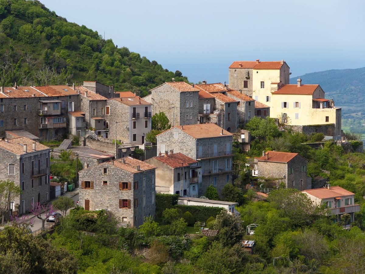 Le village d'Olmeto