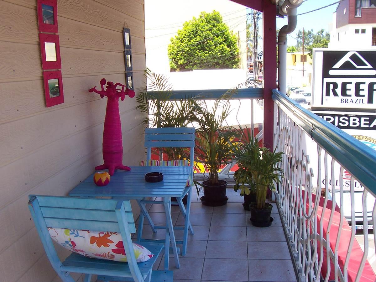 terrasse du bungalow chambre 116 confort