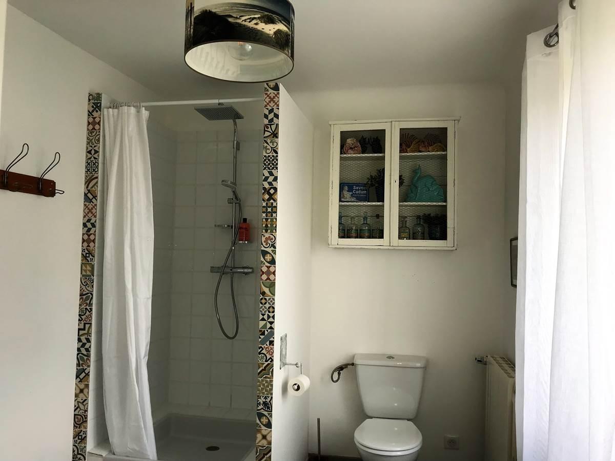 Douche et WC Chambre Mont Serein