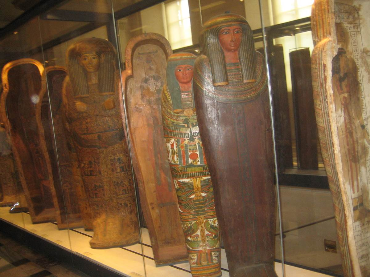 Egyptian sarcophagi