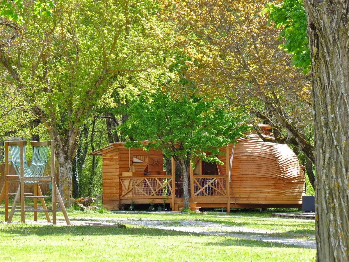 dôme géodesique camping des ecureuils