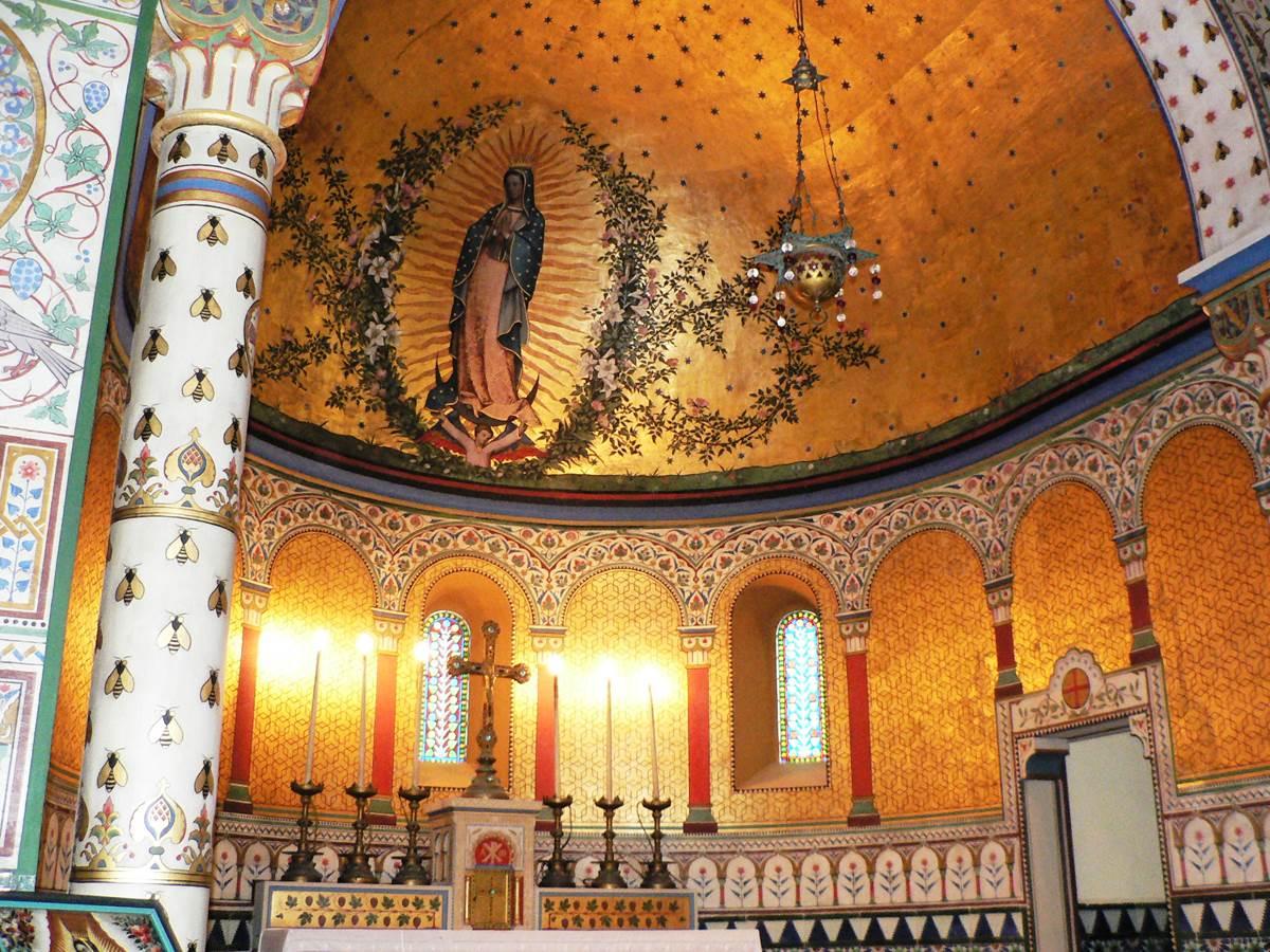 La chapelle Impériale à Biarritz