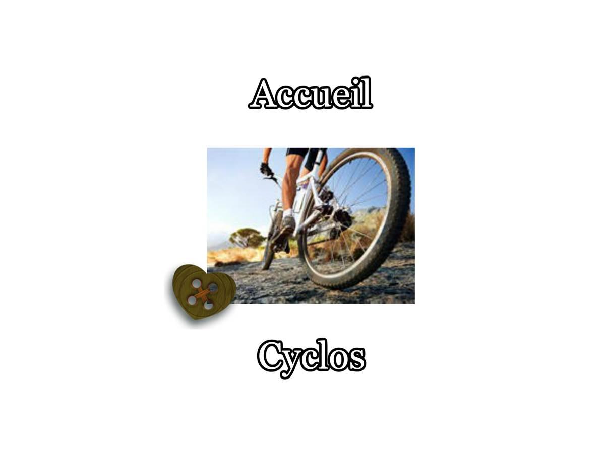 Accueil cyclos