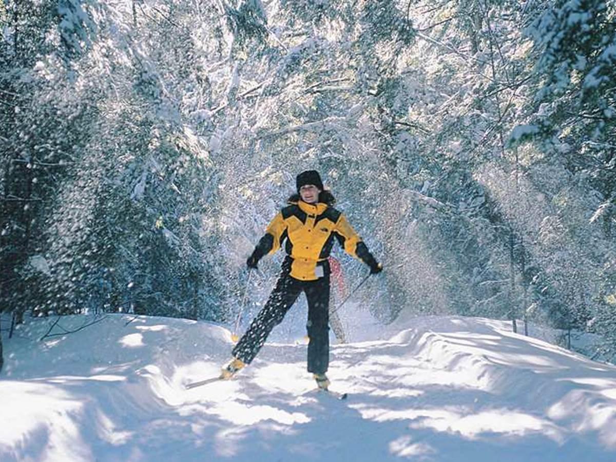 Possibilité de skier à La Baraque de Fraiture