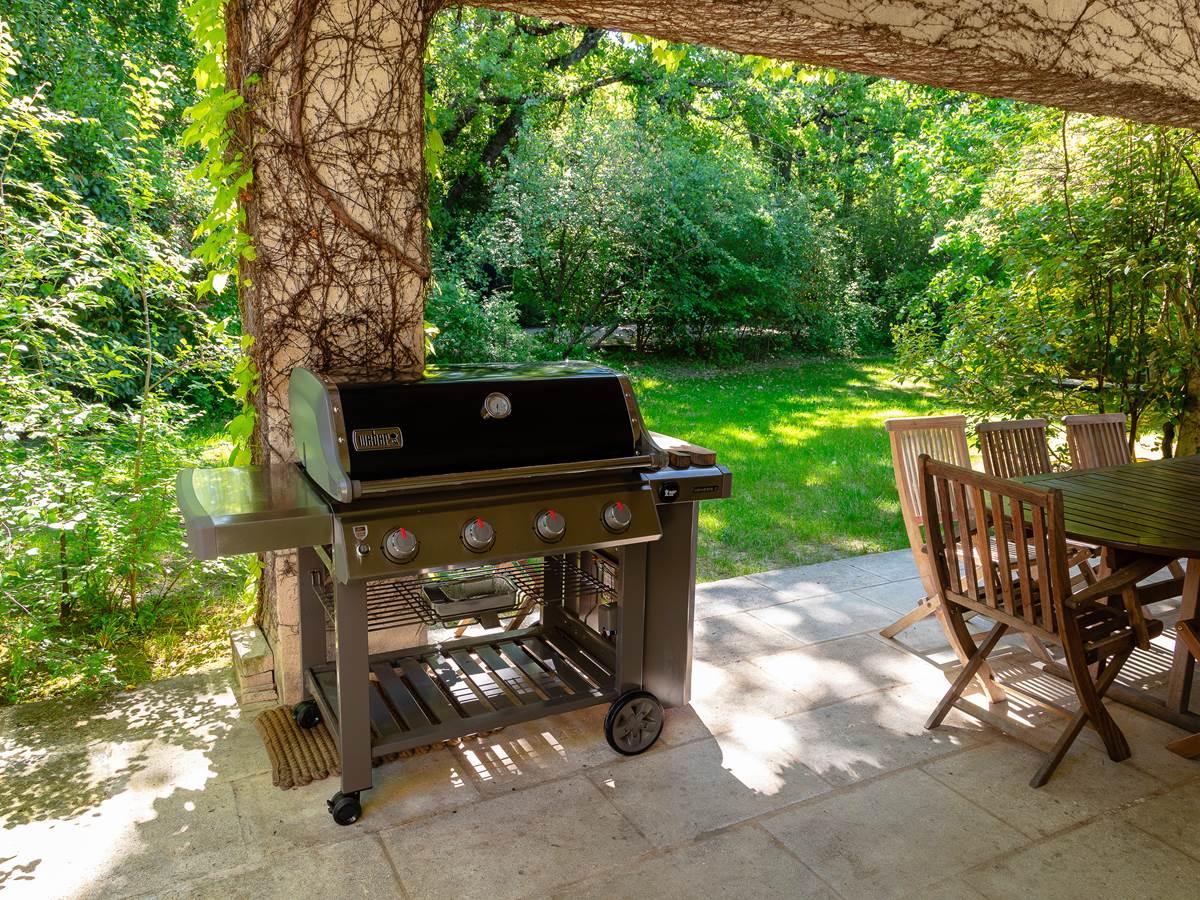 Barbecue WEBER avec plancha