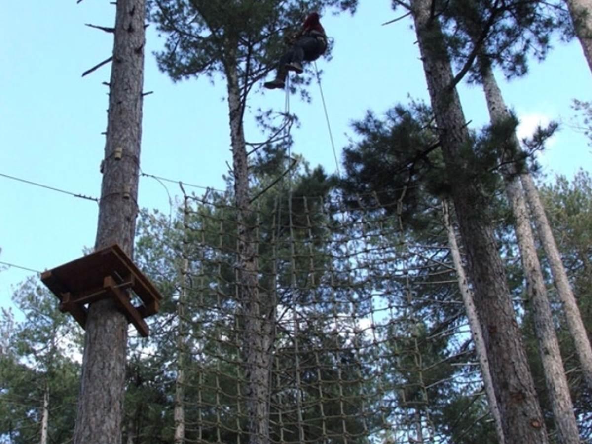 Parc aventure forêt de Valduniellu