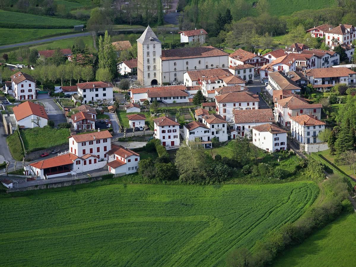 Sare, labellisé plus beau village de France