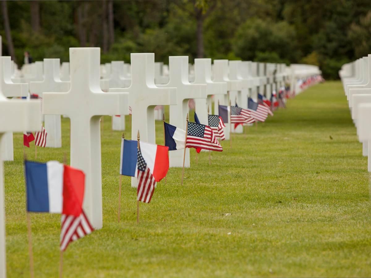 Omaha beach cimetière