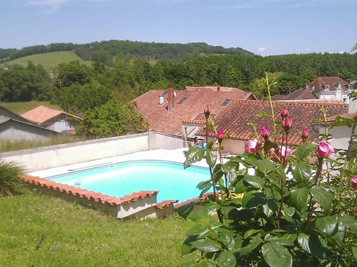 Relais du Château piscine
