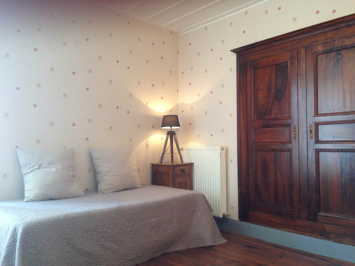 Chambre Le Potager, lit simple