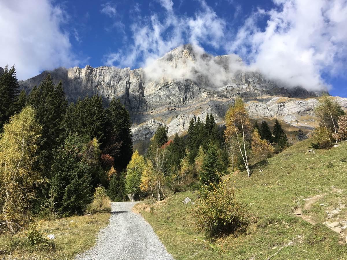 Vers Ayères en automne