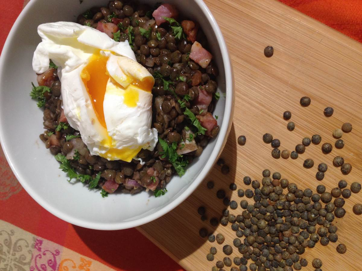Salade  Lentilles vertes du Puy