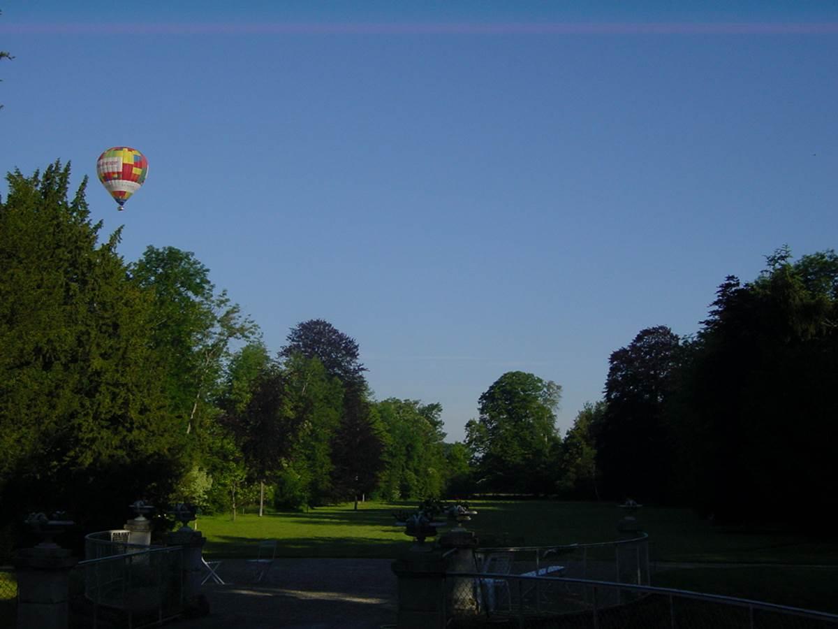 Décollage montgolfière
