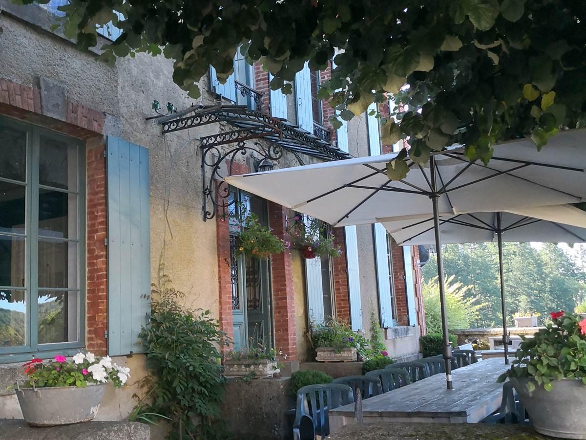 Maison Courbarien Chambre d'hôtes en Creuse - vue façade