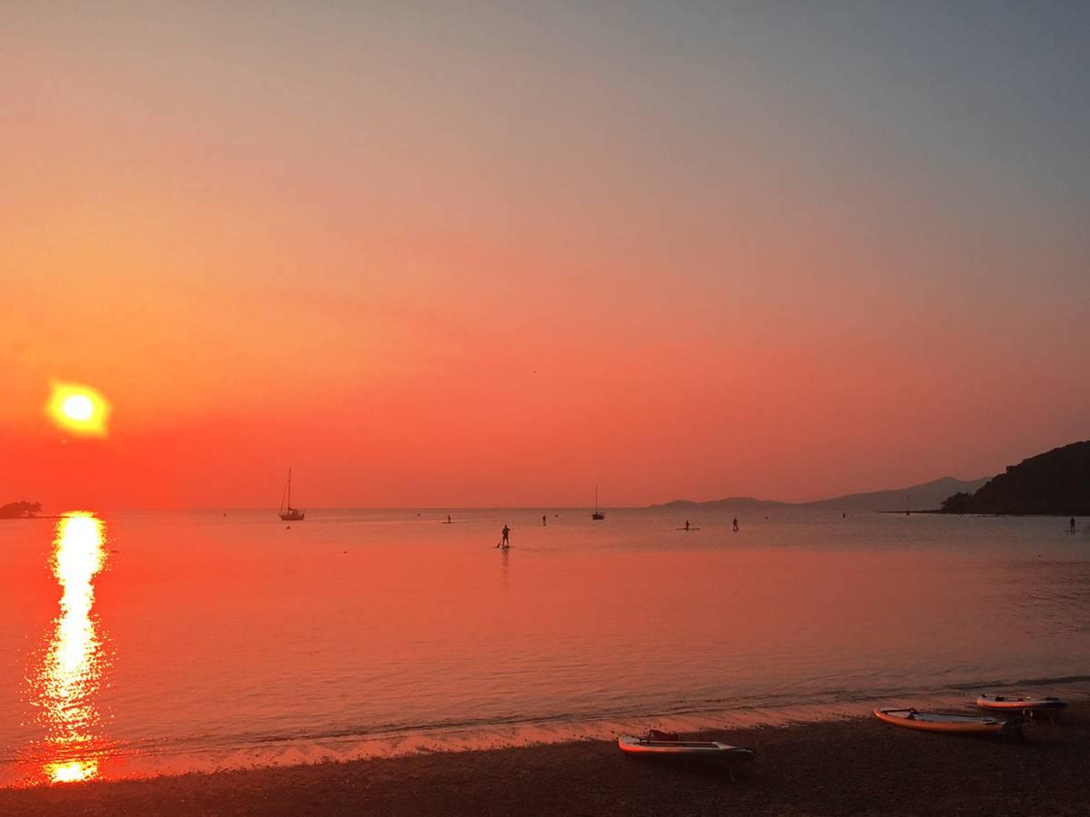 Balade pour le coucher de soleil en SUP, pirogue hawaienne 1 ou 4 places