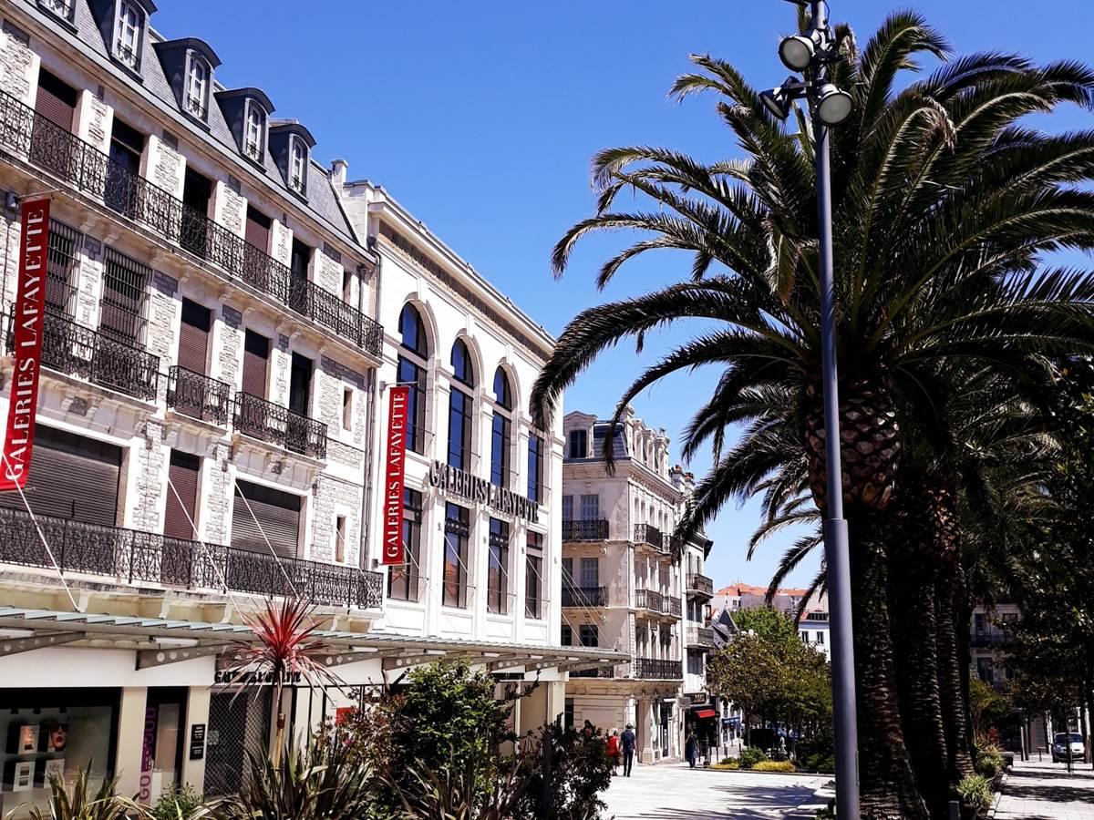 Biarritz - place Clémenceau