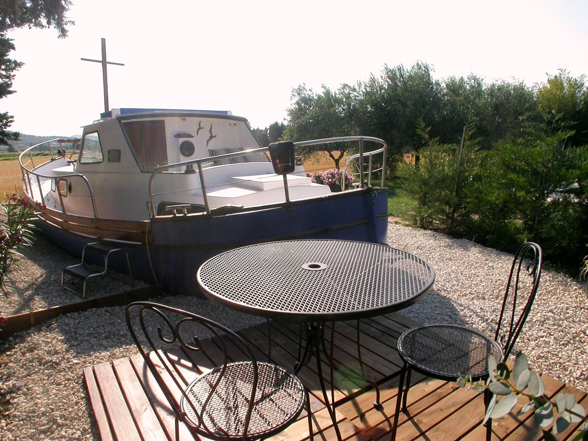 Terrasse du bateau