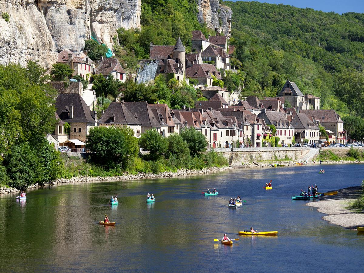 La Roque Gageac labellisé plus beau village de France