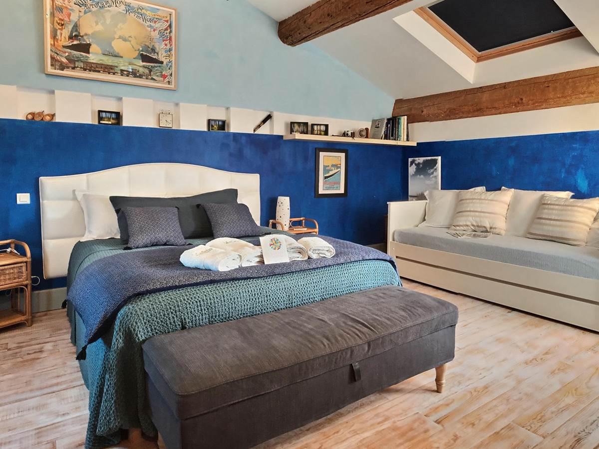 Azzurro - la casa occitane Marseillan hotel chambres d'hotes