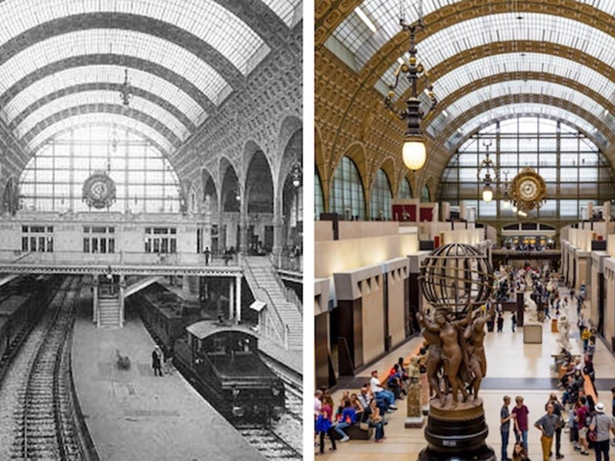 From the railway station to the art museum!