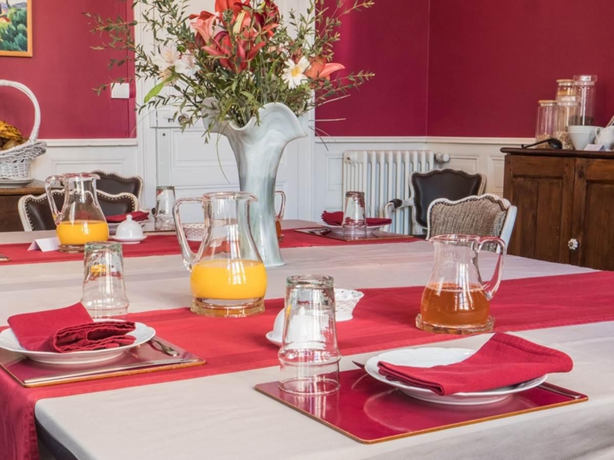 Le Jardin des Lys - Petit-déjeuner