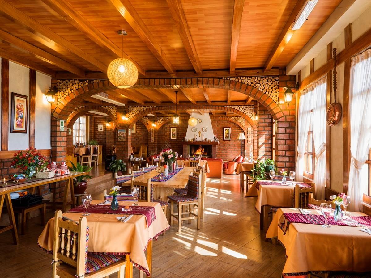 Comedor de Copacabaña Lodge