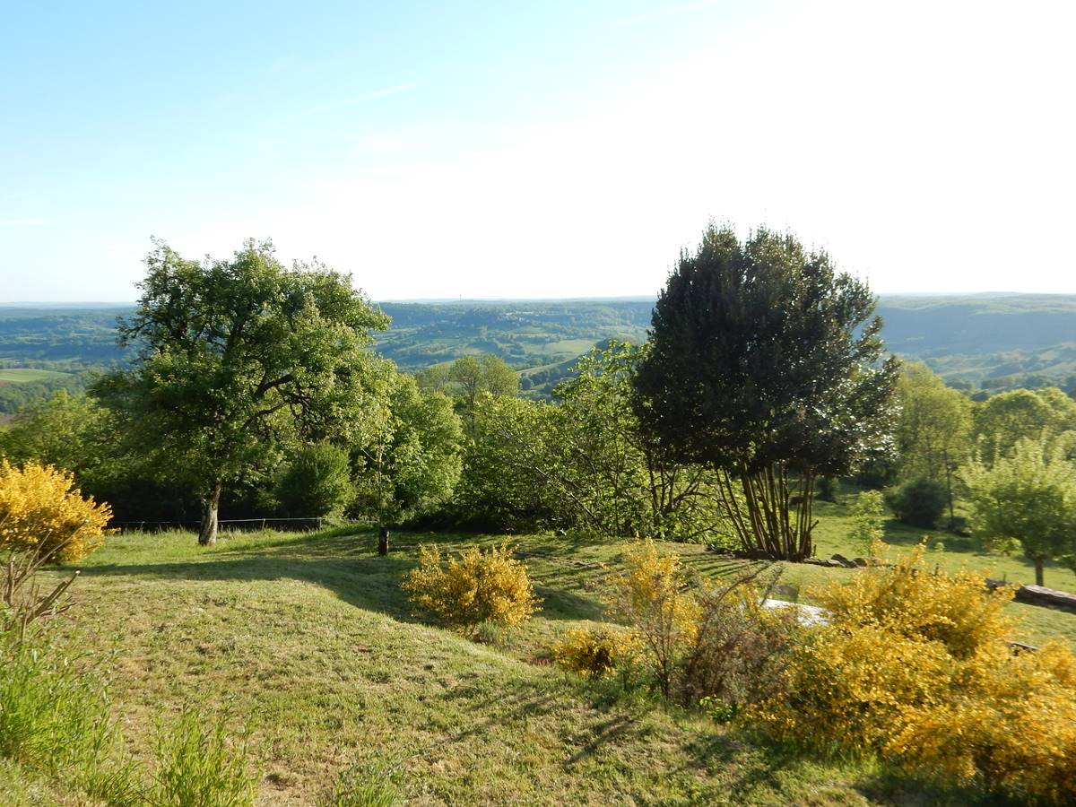 Le jardin en terrasse de la Grande Ourse