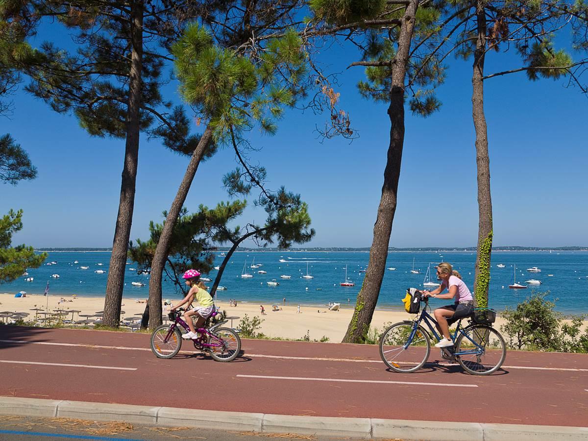 Pistes cyclables et bord de mer à vélo