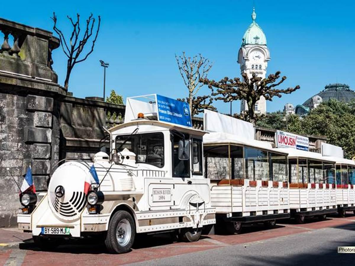 Petit train touristique de Limoges