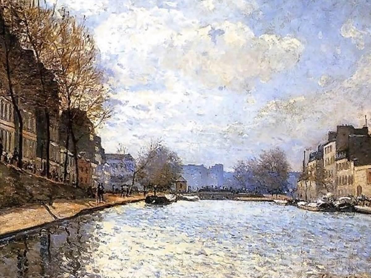 Sisley, Canal St Martin