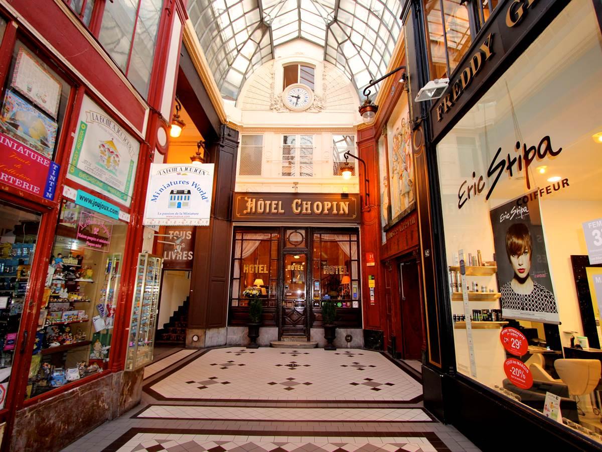 Hôtel Chopin Paris Opera