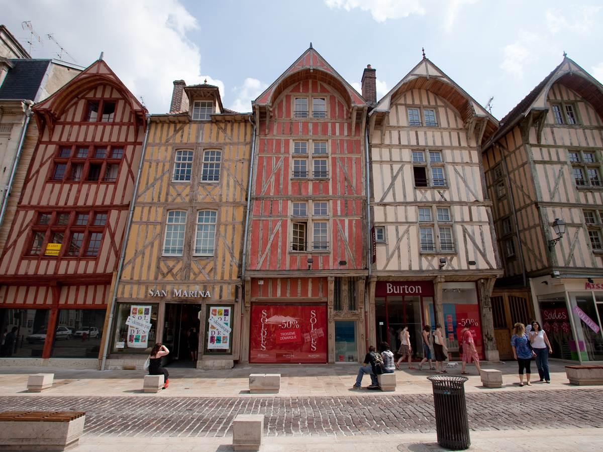 Pans de bois   Rue Emile Zola Copyright Nicolas Dohr