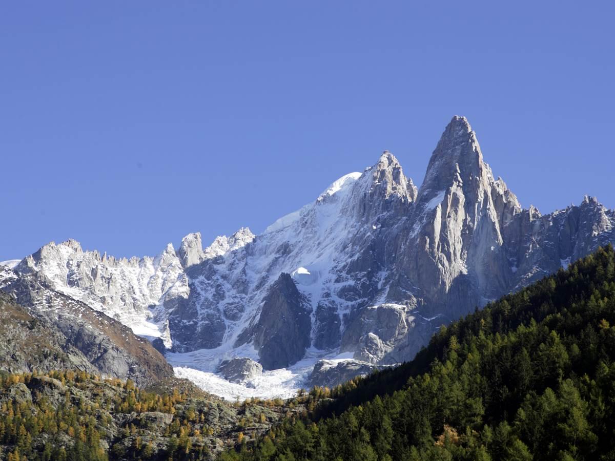 Vue du massif depuis le chalet