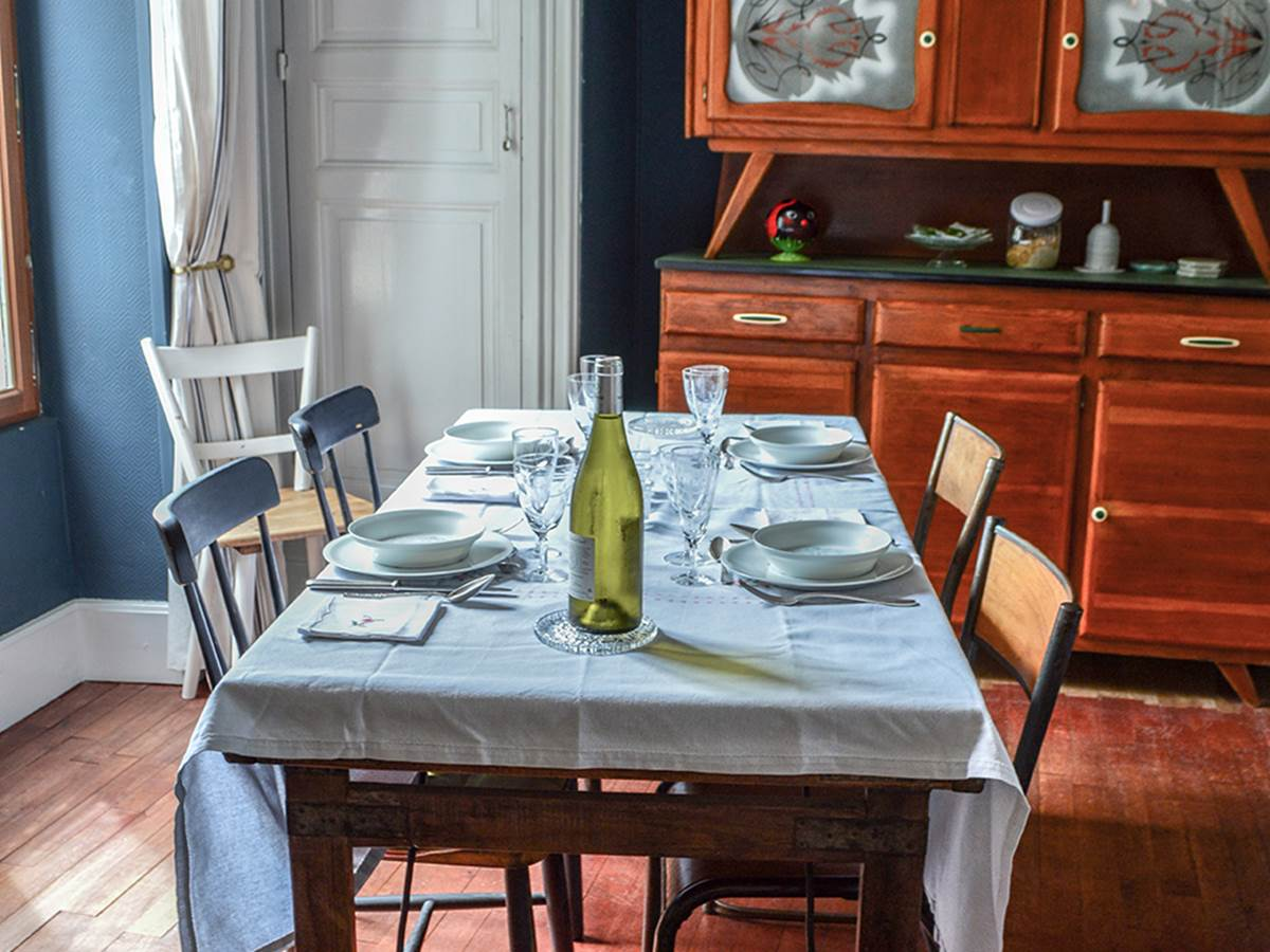 maison Volière - table d'hôtes
