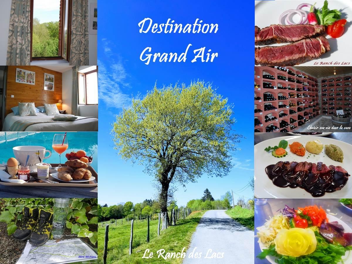 Grand air et grands espaces, une sécurité naturelle au Ranch des Lacs 87120