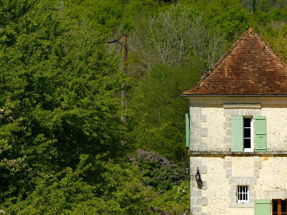Façade Sud Ouest Fenêtre Chambre Epona