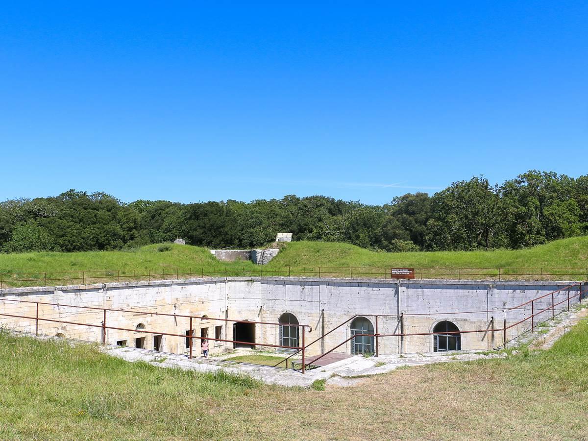 Terrasse du Fort Liédot sur le bastion