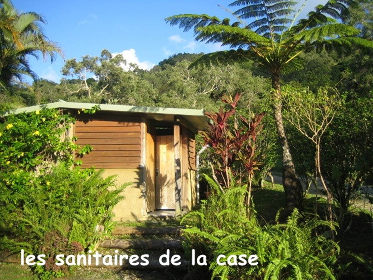 Sanitaires case famille