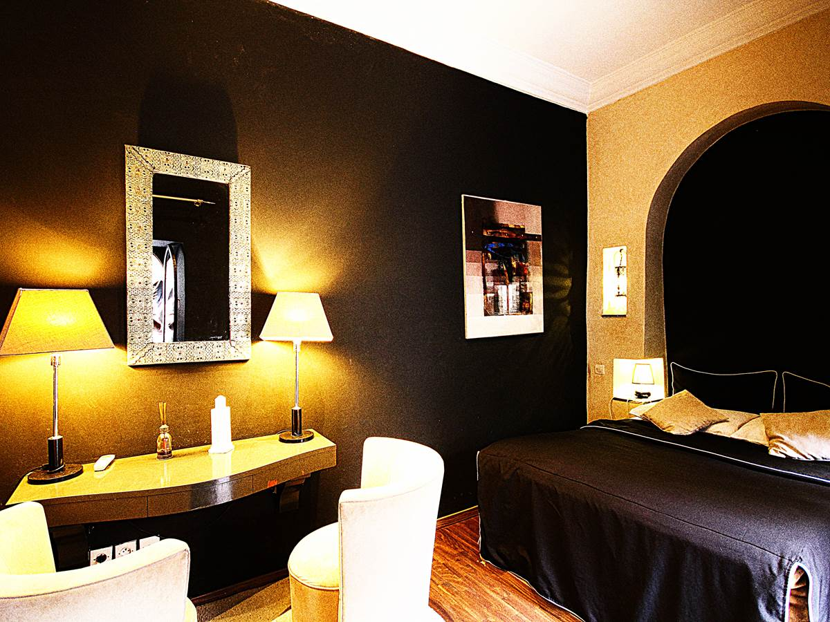 chambre ivoire riad ralhaya marrakech