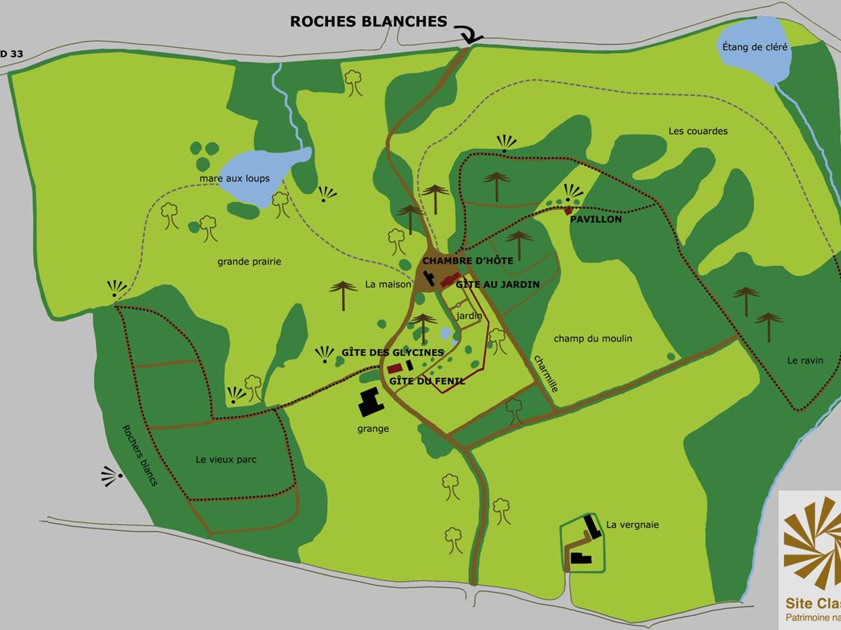 Parc site classé