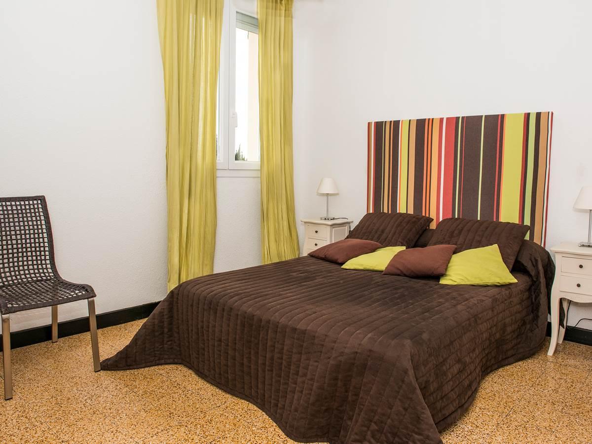 Chambre 1 lit en 140 cm