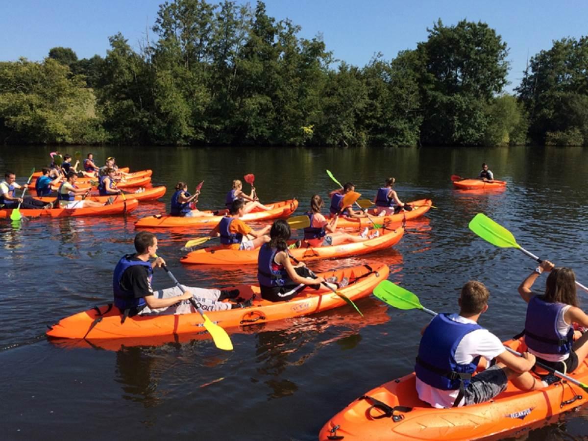 Canoe encadrement NEGREPELISSE