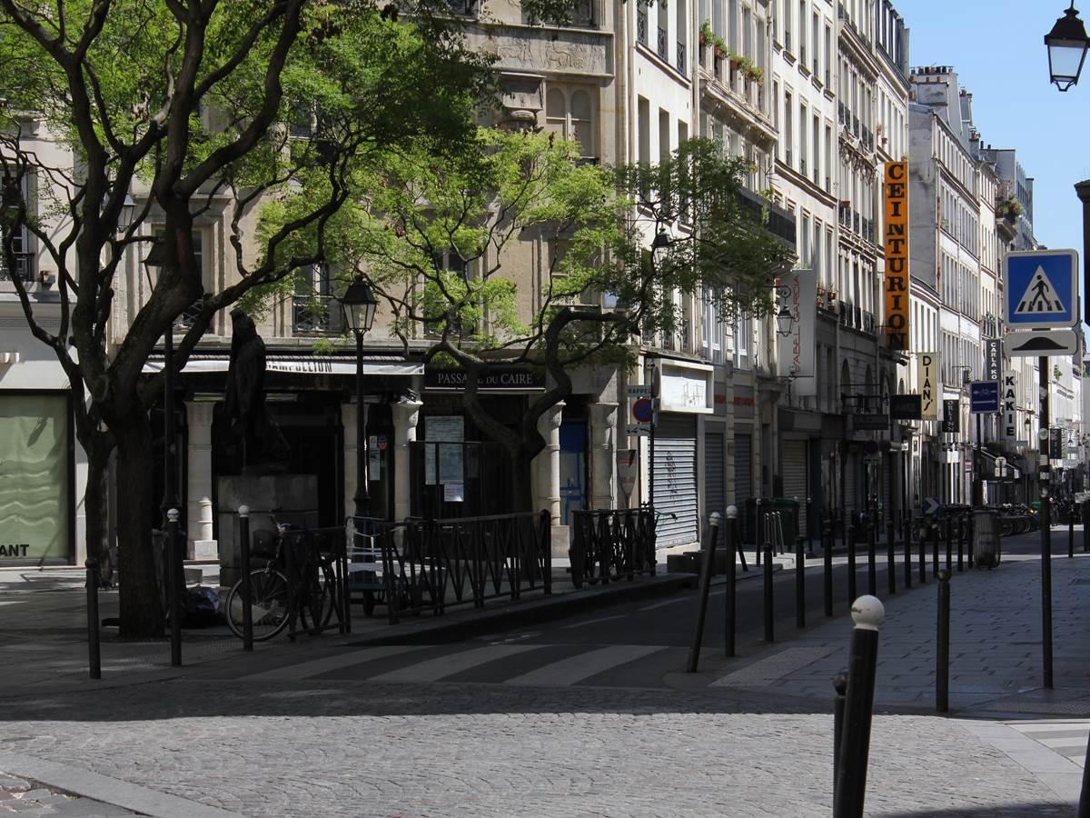 Place du Caire, quartier sentier Montorgueil