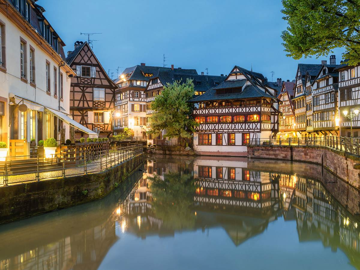Le fameux canal de Strasbourg