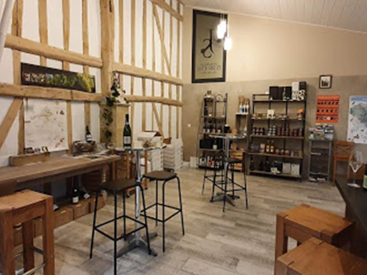 Notre showroom -  Champagne Briche