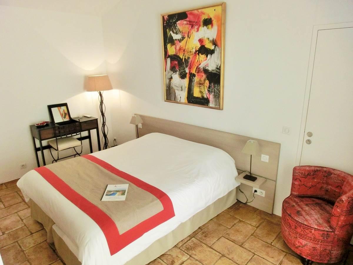 Chambre double Capélan en rez de jardin à Bandol dans le Var